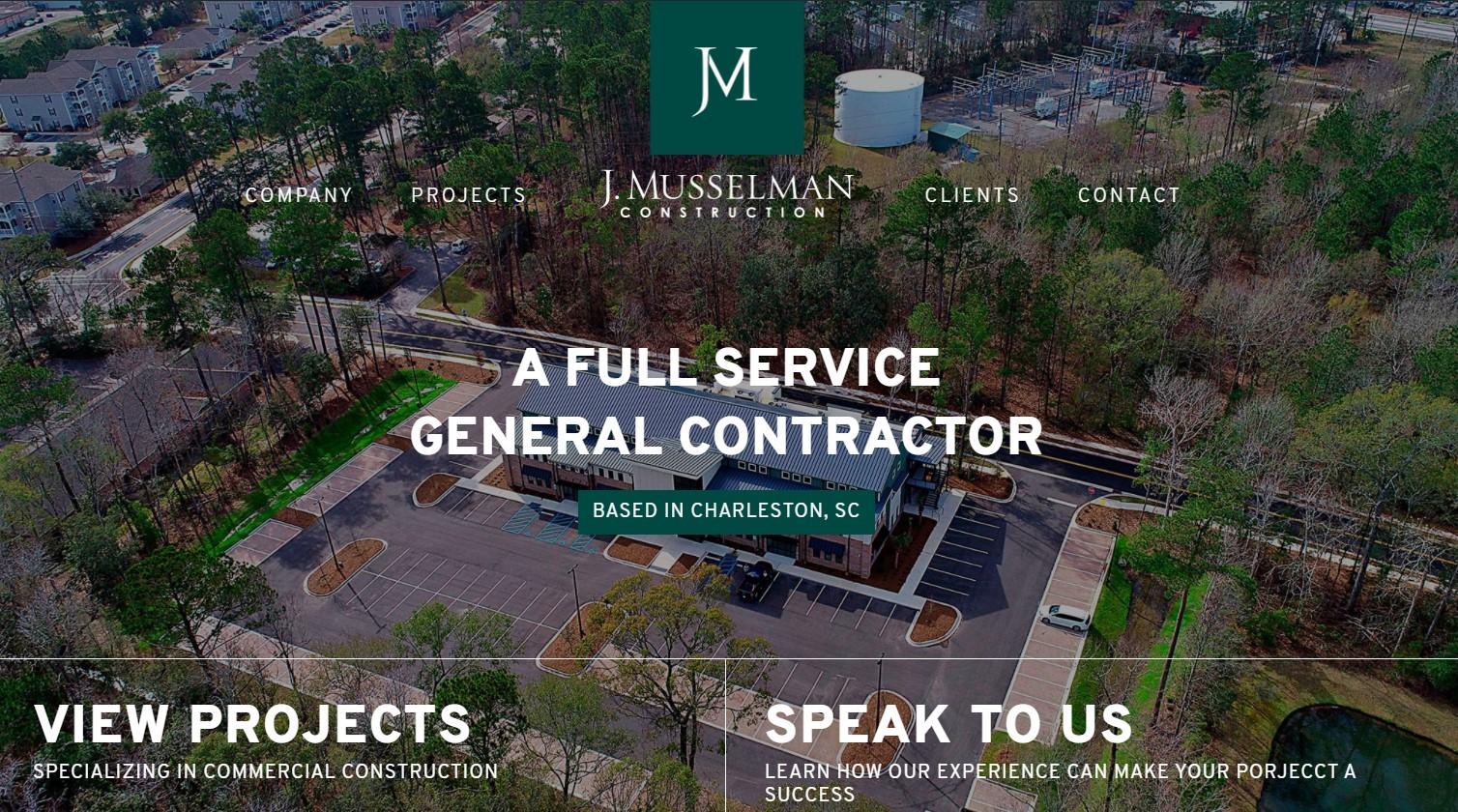 J. Musselman Construction Gets a New, Responsive Website