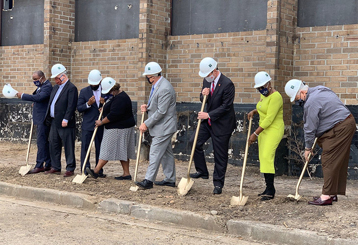 GROUNDBREAKING AT THE OPPORTUNITY CENTER